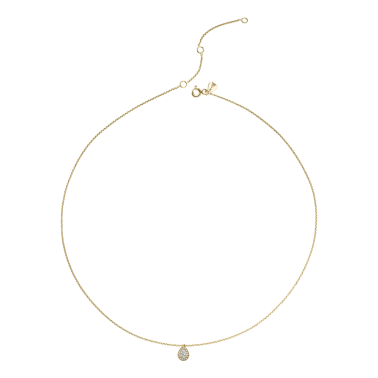 Collier Lepage Marceau en or jaune diamants
