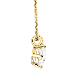 Collier Lepage Flirt en or jaune diamant