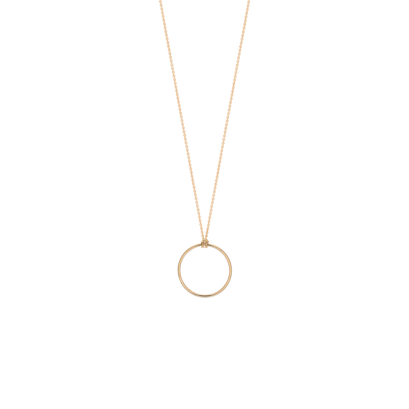 Collier Ginette NY Mini Circle or rose