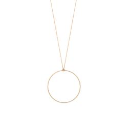 Collier Ginette NY Circle en or rose