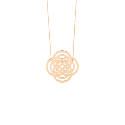 Collier Ginette NY Baby Purity en or rose