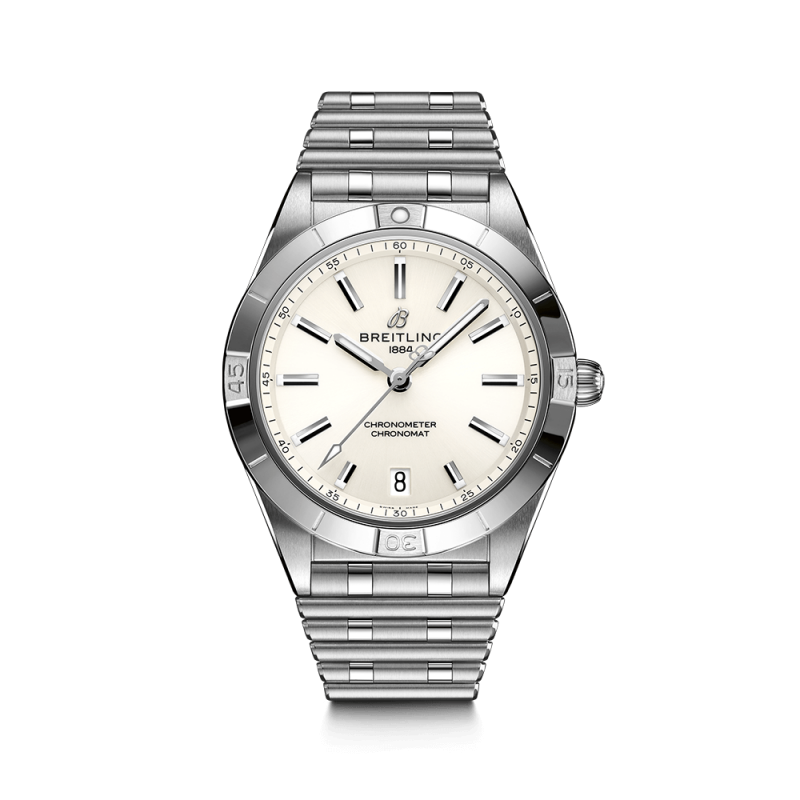 Breitling Chronomat Lady Automatic watch white dial 36 mm