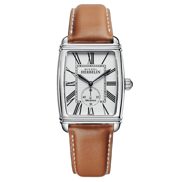 Michel Herbelin Art Deco Mechanical Limited Edition watch numbered 300 copies 33 x 39 mm 1938/08GO