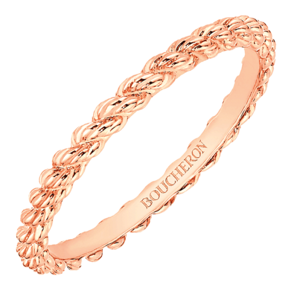 Alliance Boucheron Serpent Bohème en or rose