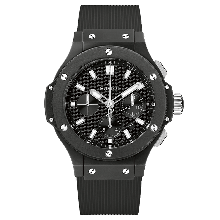 Montre HUBLOT Big Bang Black Magic Chronographe - Montre Luxe Lepage